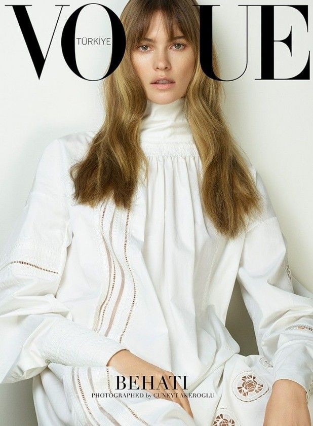 Vogue Turkey March 2015 | Behati Prinsloo by Cuneyt Akeroglu