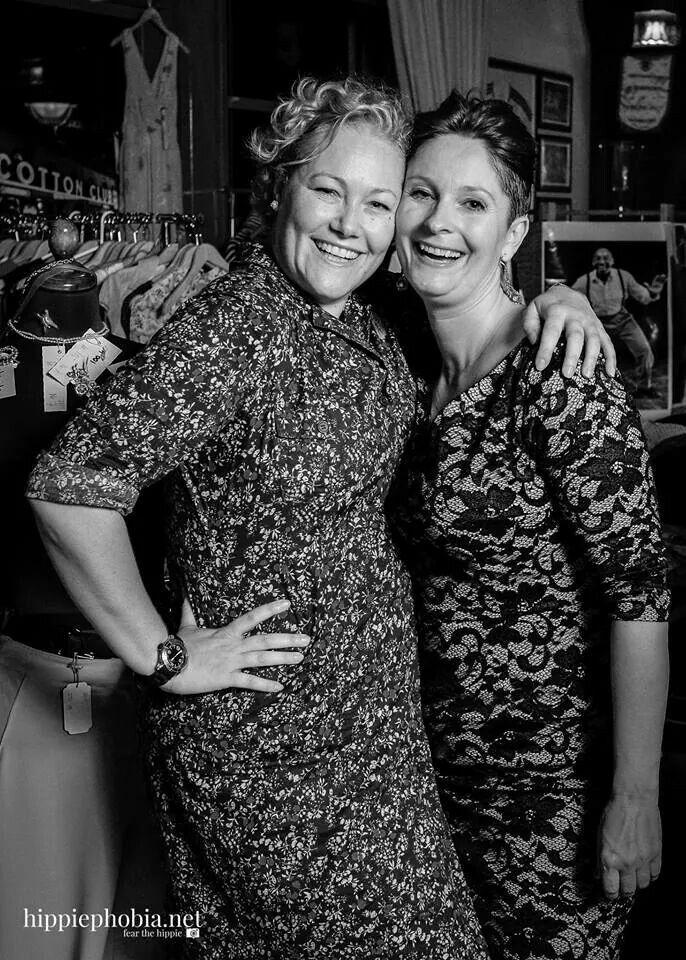 My Vintage Corner at CPHLX 2014 with my trusty sidekick Sandra C.