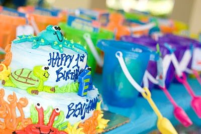 Under The Sea Theme For A Kid Birthday Party!