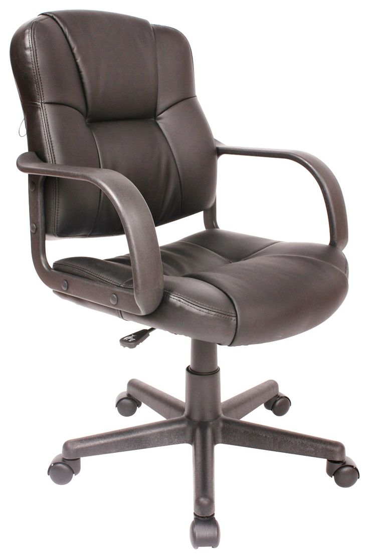Comfort products inc leather massage task chair black 60