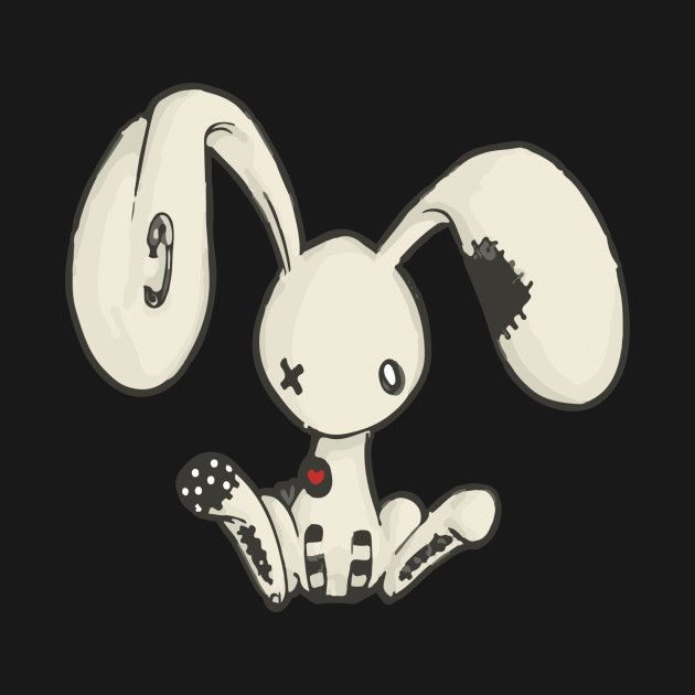 check out this awesome 'emobunny' design on teepublic