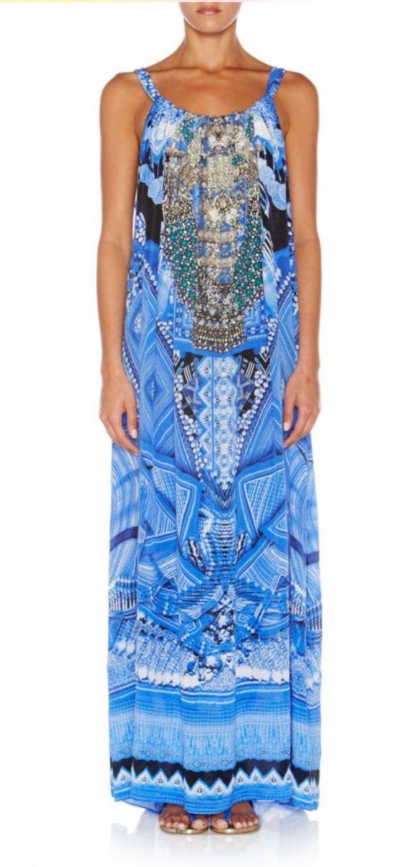 Camilla Franks A World Between The Warp drawstring dress