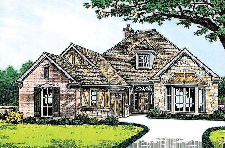 Eplans tudor house plan tudor meets english cottage for English tudor home plans