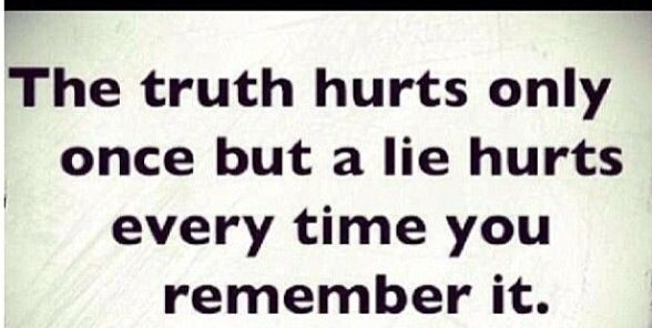 Quotes About Truth Hurts Victims. QuotesGram
