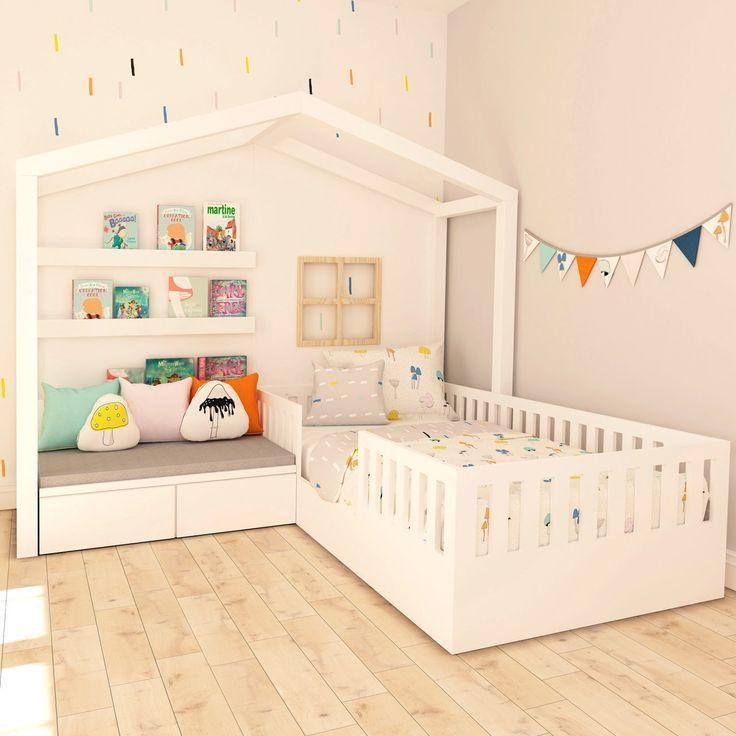 Das BIGA Set besteht aus einem Bett und einer Couch, die durch ein Spielhaus ersetzt werden kann. Die Produkte können in Kombination mit der Raumgröße verwendet werden. – Canan Şahin