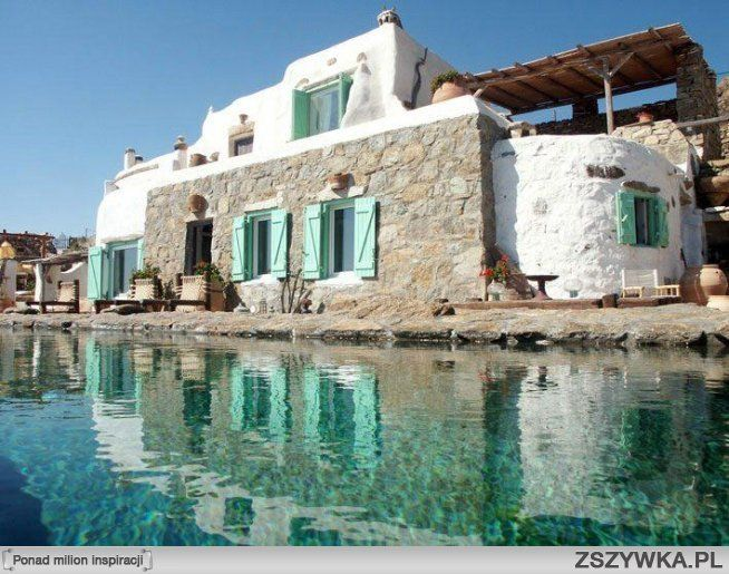 Mogłabym tam zamieszkać :): Mykonos Greece, Luxury Villas, Dream Homes, Real Estates, Villas Drakothea, Outdoor Spaces, Bedrooms Villas, Greece Villas, Rental Villas