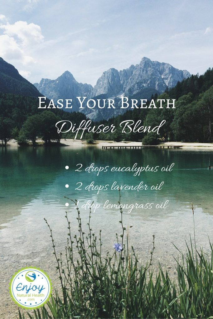 Ease Your Breath Diffuser Blend