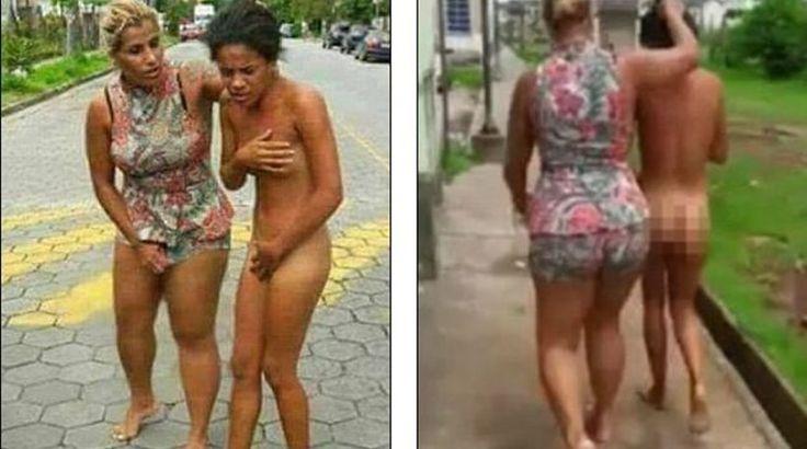 ΑΠΙΣΤΕΥΤΟ ΣΚΗΝΙΚΟ! Έσυρε γυμνή στον δρόμο την ερωμένη του άντρα της! (ΒΙΝΤΕΟ)