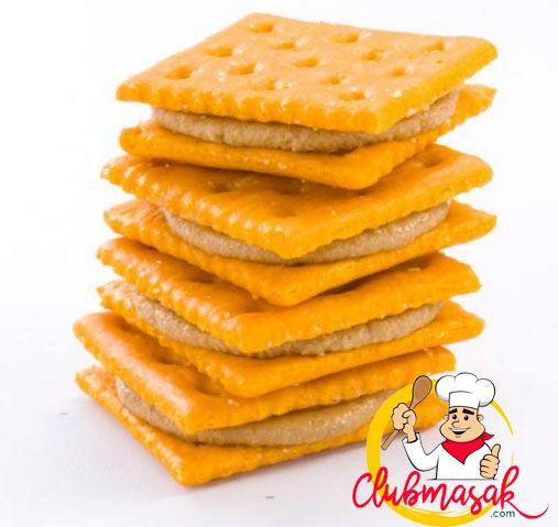 Resep Crackers Aroma, Sajian Keju Krim, Club Masak