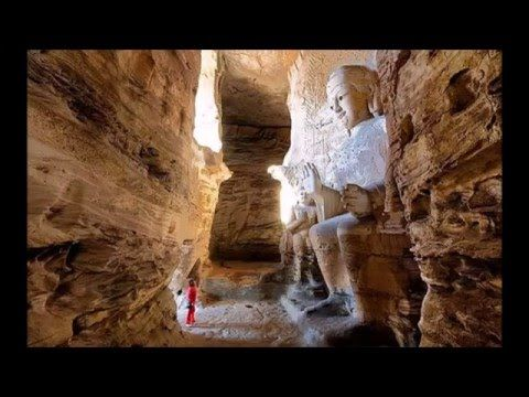 An Underground City of Giants Discovered in the Grand Canyon