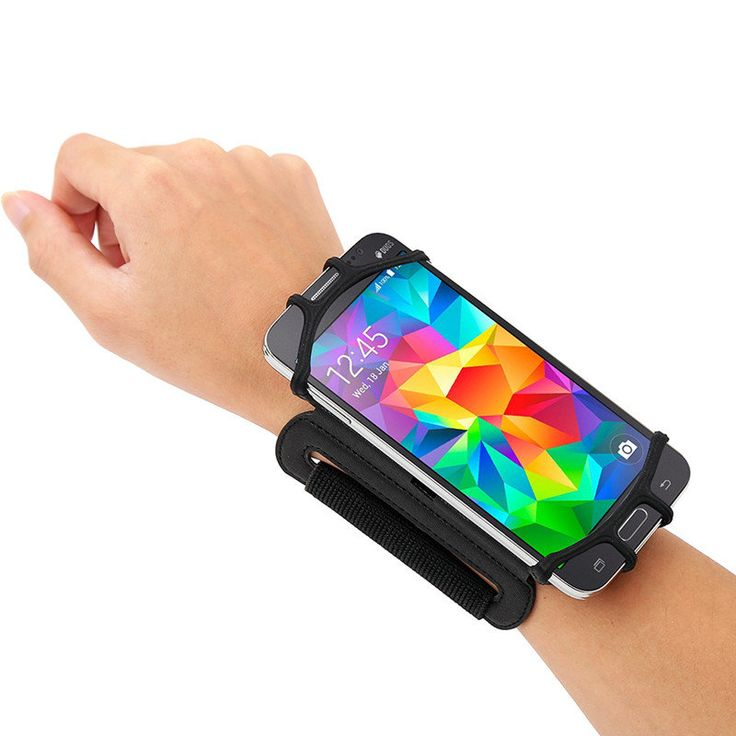 VUP 180° Rotation Sport Running Cycling Adjustable Wrist Band Bag For 4-6 Inches Smartphone Sale - Banggood.com  Iphone mobile cellphones apple accessories
