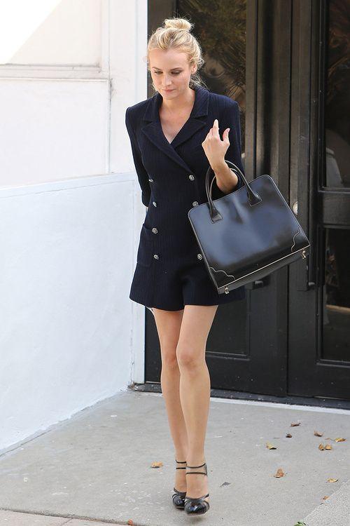 Diane Kruger | Street Chic.
