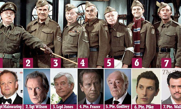 So who plays who in the new Dad's Army? Don't tell 'em Pike! 2014