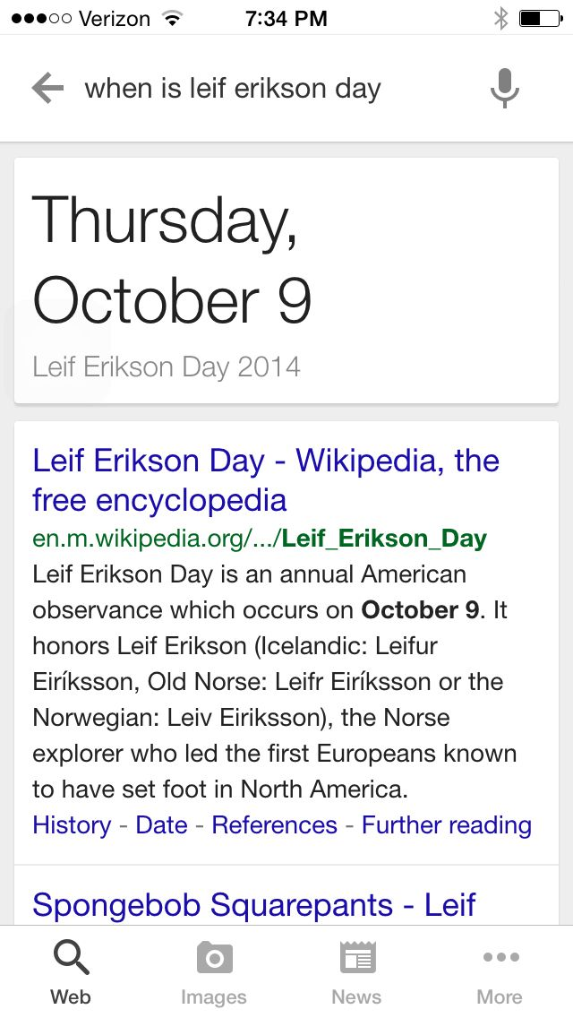 Spongebob-Leif Erikson day