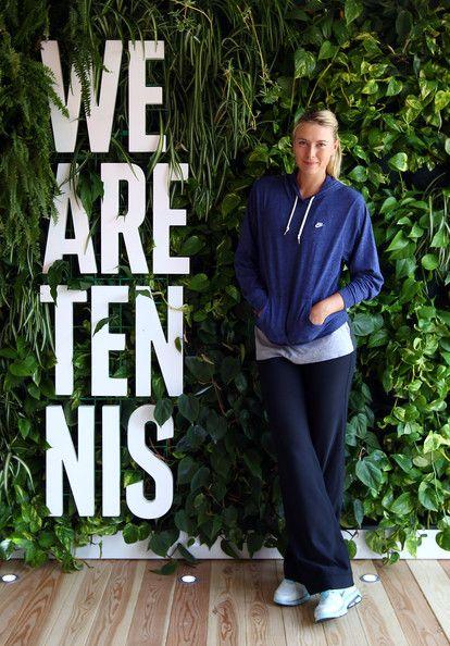Maria Sharapova is Tennis
