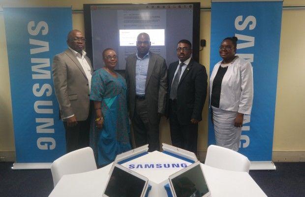 Samsung Donates Training Centre to the City of Tshwane