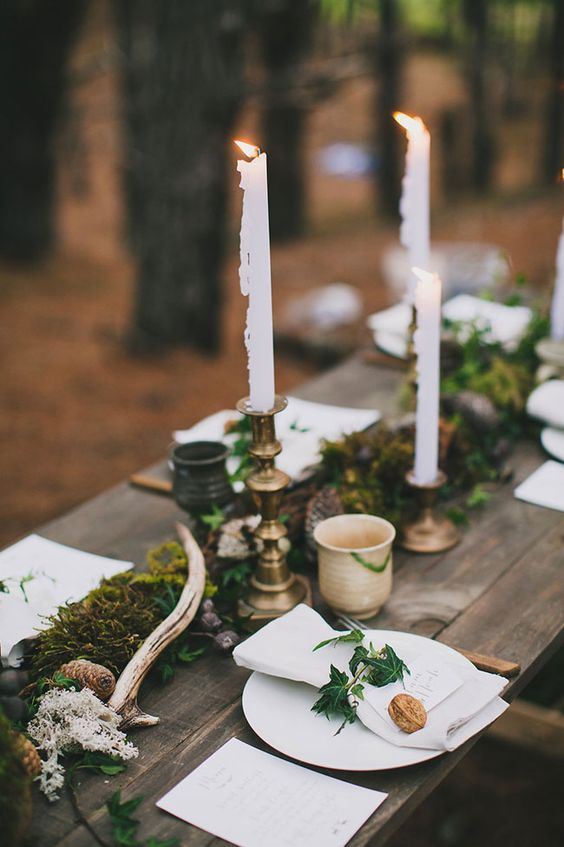 Enchanted forest wedding....