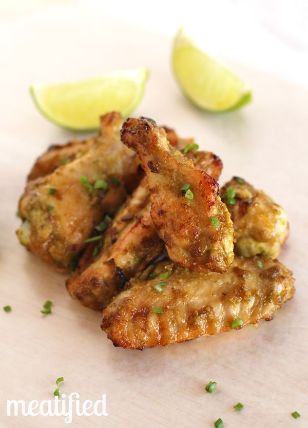 Jalapeño-Lime Chicken Wings - Meatified | stupideasypaleo.com