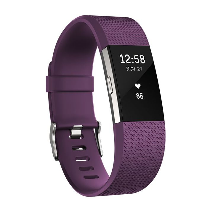 PUREPULSE® CONTINUOUS HEART RATE Make every beat count with PurePulse® continuous, wrist-based heart rate on Fitbit Charge 2™. See your heart rate all-day and automatically, without an uncomfortable chest strap. Use simplified zones—Fat Burn, Cardio and Peak—to gauge your exercise intensity at a glance and make the most of your workout. Better track calorie burn to help you stay on track toward weight goals. And follow your trends over time with insights in the Fitbit app. <br>...