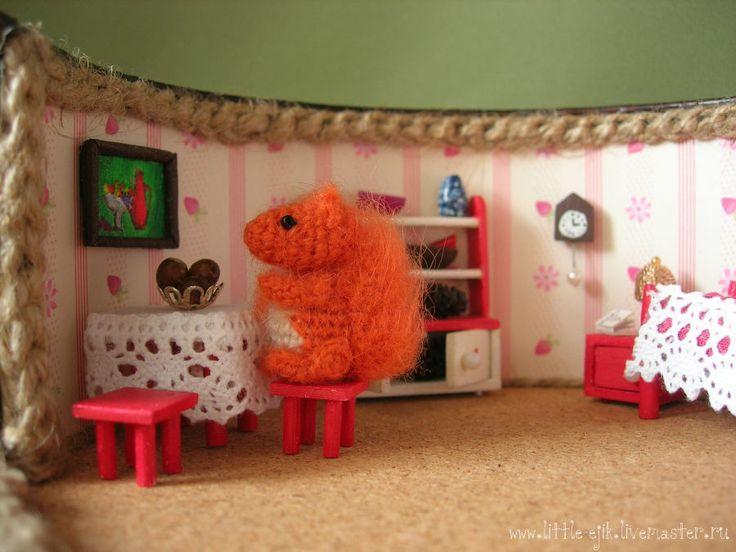 """Купить Румбокс """"Белкино дупло"""" - рыжий, румбокс, белка, белочка, Мебель…"""