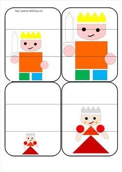 jeu de bataille (petit, moyen, grand) le tout petit roi
