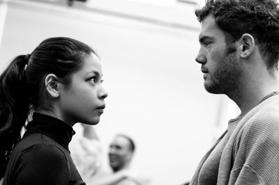 The heat has hit the rehearsal room! The cast of Miss Saigon has started nailing choreography and belting their faces off for the revival's ...