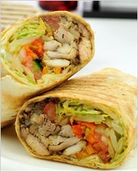 Home shawarma
