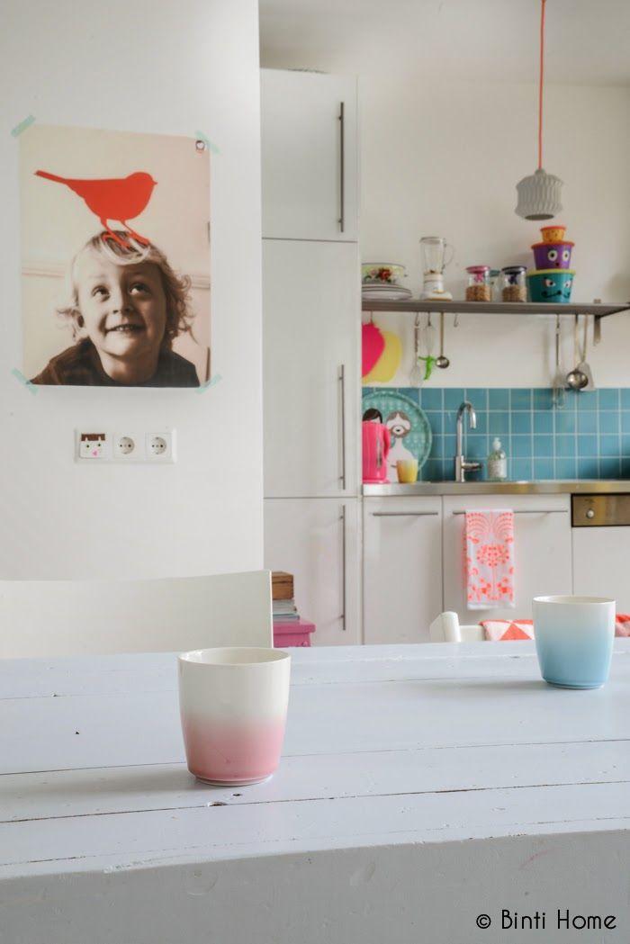 ATELIER RUE VERTE le blog: Pays-Bas / Un intérieur aux teintes pastel /