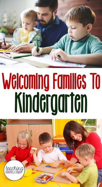 Looking for ideas for how to welcome families to kindergarten? Open houses provide an opportunity at the beginning of the year but I love that this list provides ways to include parents throughout the whole year and gives them an opportunity to become mor