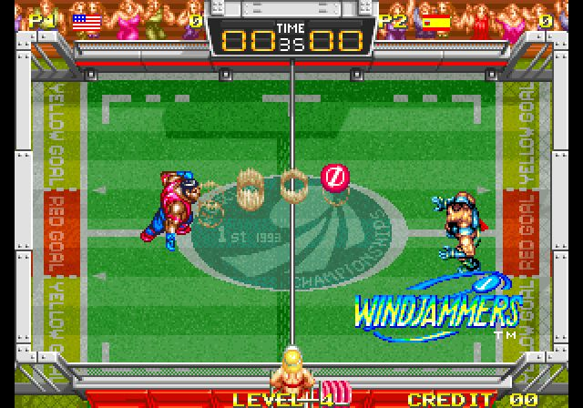 Windjammers (Game) - Giant Bomb