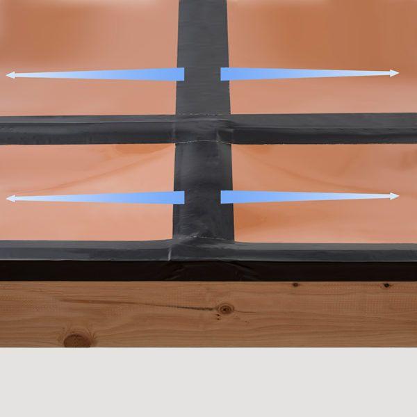 Installation Under Deck Drainage System Under Deck Drainage