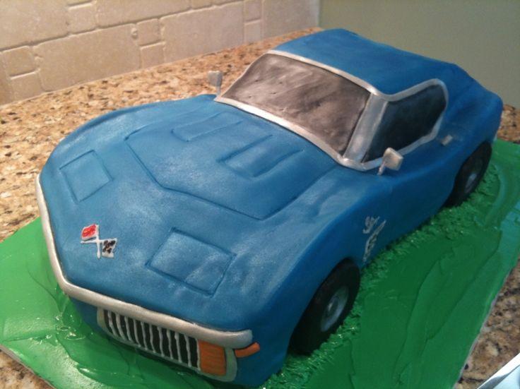 Best 25 Corvette cake ideas on Pinterest Car cake tutorial 3d