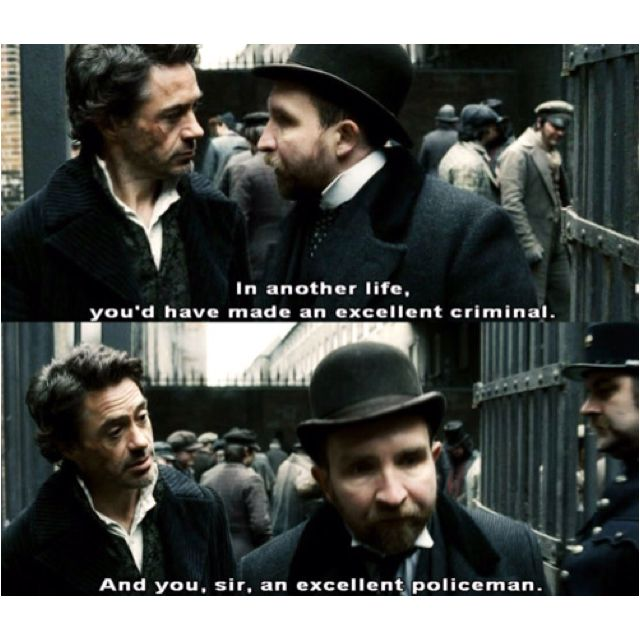 Sherlock Holmes....   Robert Downey Jr <3