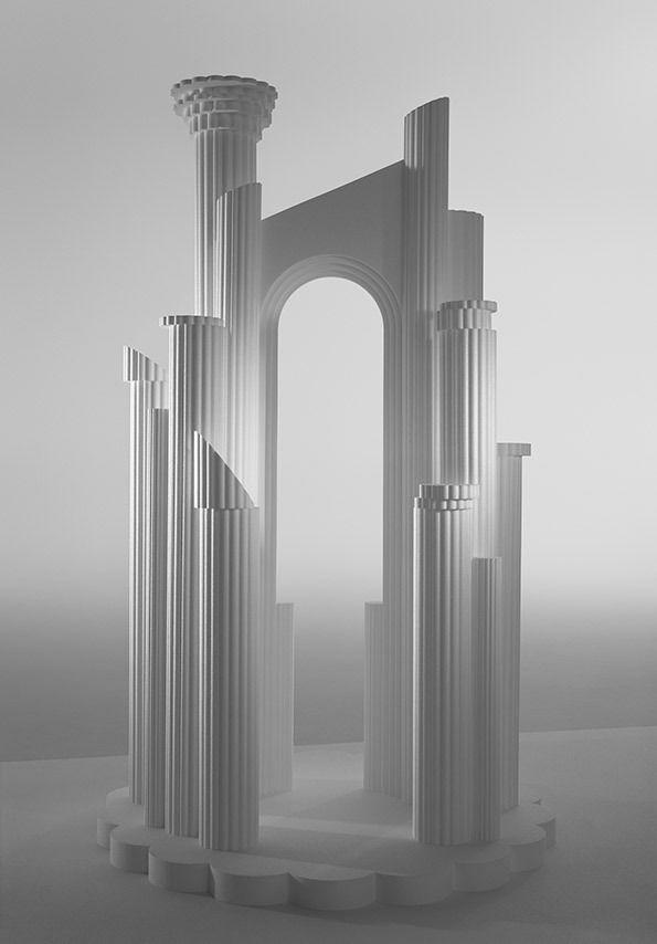 'Ruins' photographer Dan Tobin Smith, designer Rachel Thomas.