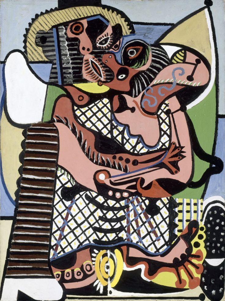 """Pablo Picasso, """"Le baiser"""", (1925) © RMN-Grand Palais (musée Picasso de Paris)…"""