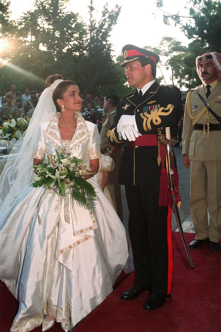 Prince Abdullah and Queen Rania of Jordan