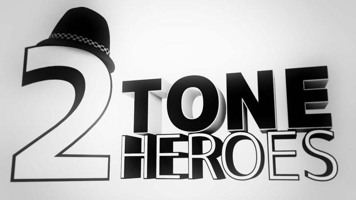 2TONE-HEROES.SKA SKA SKA. Cinema 4D.