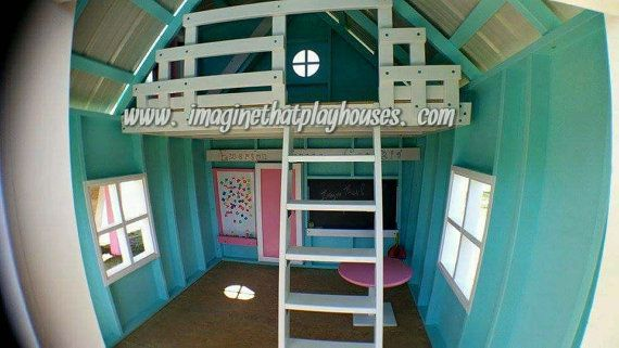 You wont find a better quality playhouse or playset anywhere! Finished outside and inside with tons of options like lofts, slide platforms,