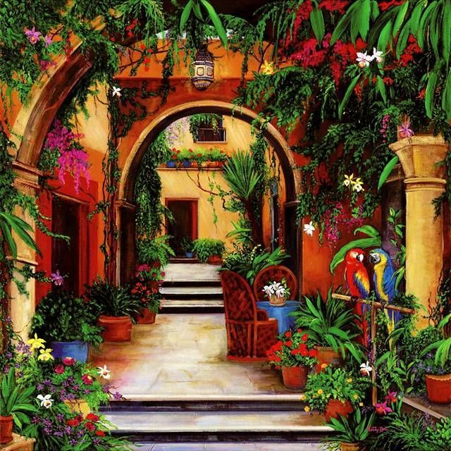 Best 25 Mexican Courtyard Ideas On Pinterest Mexican