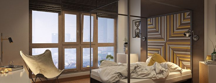 Amazing bedroom design with soft color... | Visit : roohome.com    #bed #bedroom #design #interior #creative #beautiful #gorgeous #great #fabulous