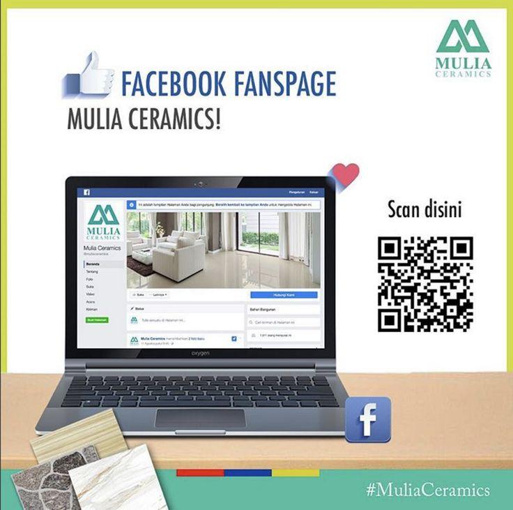 Like Facebook Fanspage >> Mulia Ceramics