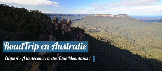 Road Trip en Australie : A la découverte des Blue Mountains !