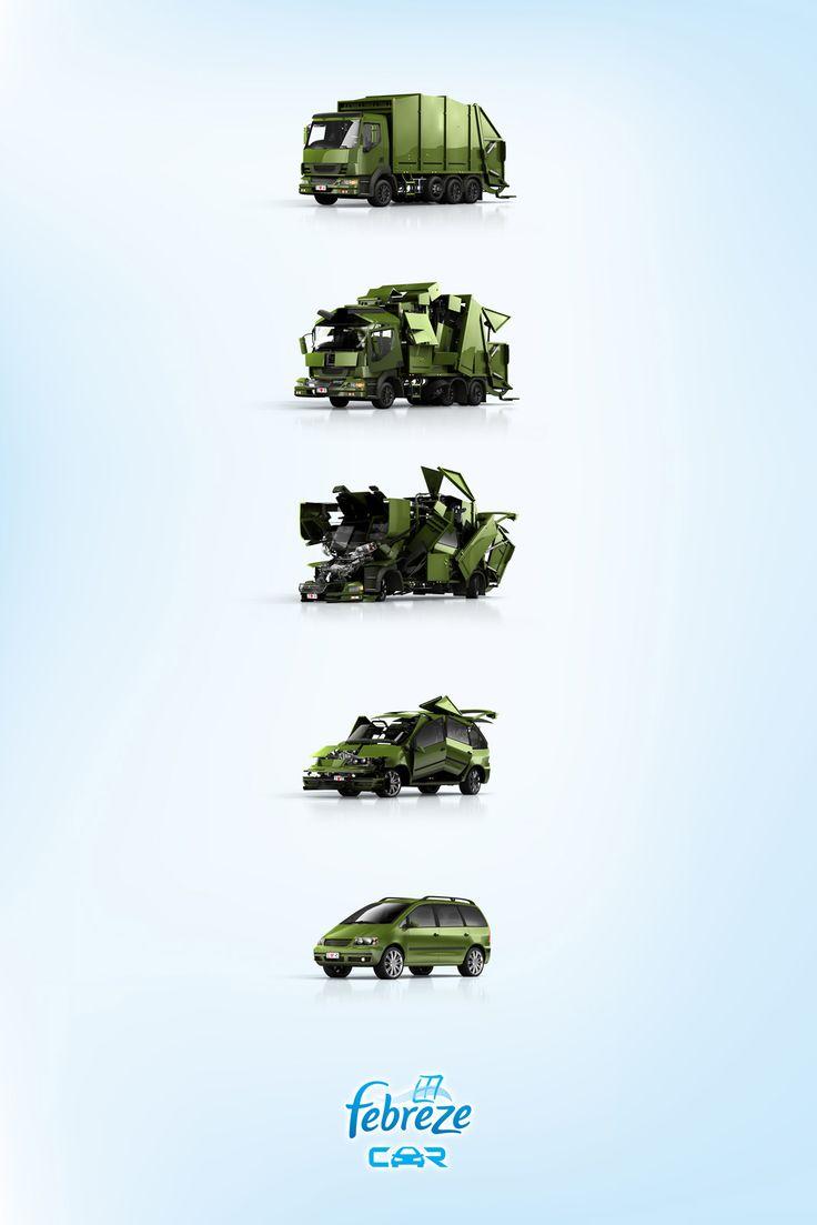 Good and clever.    adwriter:    DLC/OGILVY (Puerto Rico) for Febreze Car