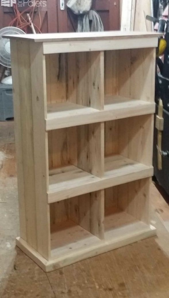 Making Shelves Out Of Pallets From That To Pallet