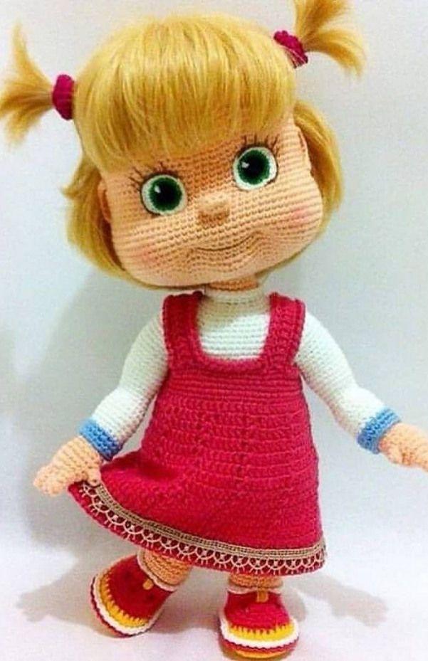 Amigurumi doll pattern idea. Here you can find easy amigurumi ... | 929x601