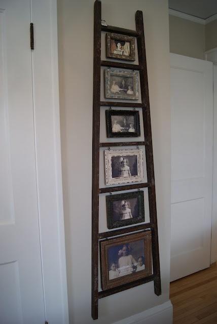 decorar con escaleras viejas u