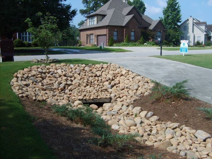 Drainage Ditch for a Mediterranean Landscape with a Beautiful ...
