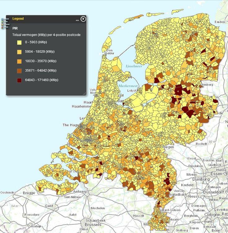 """Sterke toename van zonnepanelen in Nederland aldus Netbeheer NederlandDe registraties zijn goed voor zo'n 80 tot 90 procent van alle installaties die we in Nederland hebben"""", aldus een woordvoerder van Netbeheer Nederland. De grootste groei in Nederland zit in de zonnepanelen op daken van particuliere woningen.  Het is in Nederland momenteel rendabeler om geld op je dak te investeren dan op een bankrekening te zetten"""
