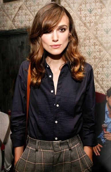 Keira Knightley  --Hottest woman alive. She has been rocking Hollywood with her satiable accent and fashion looks.