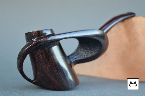 Unique Handmade Tobacco Smoking Briar Pipe MPipes by MPipesCrafts